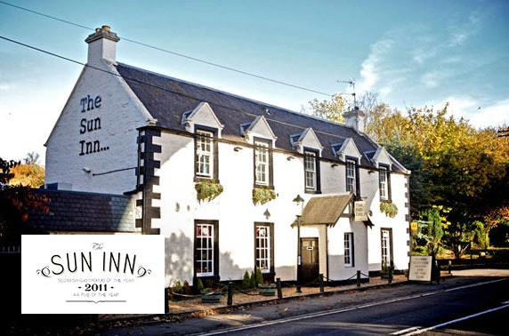 The Sun Inn dining, Dalkeith