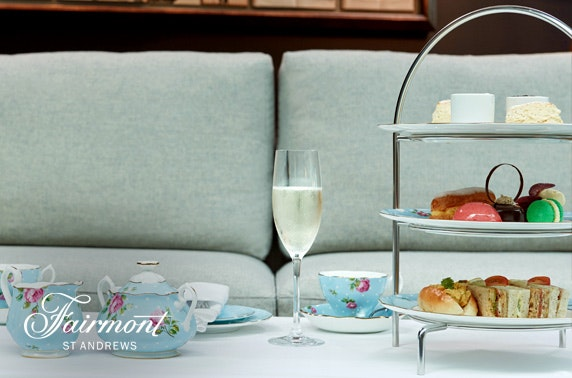 5* Fairmont St Andrews luxury afternoon tea