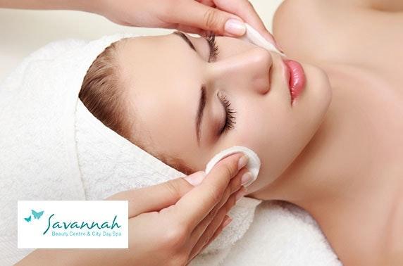 Savannah Beauty Centre treatments, Bridge of Allan