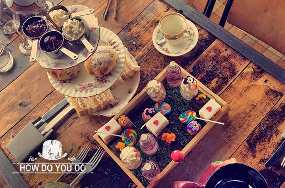 Mad Hatter's afternoon tea & cocktails, How Do You Do