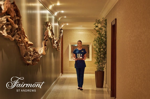 5* Fairmont St Andrews spa day