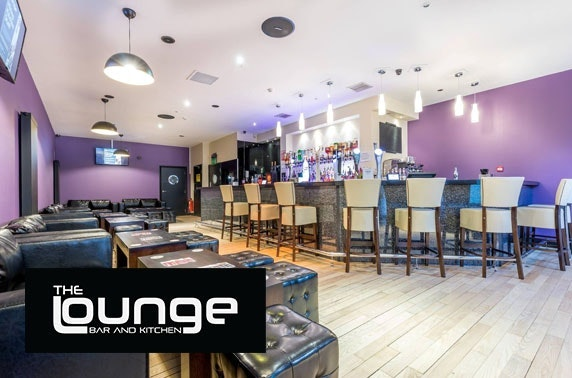 The Lounge dining, City Centre – from £4.50pp