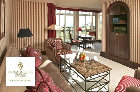 5* Old Course Hotel suite DBB