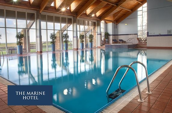 4* Marine Hotel spa day, Troon