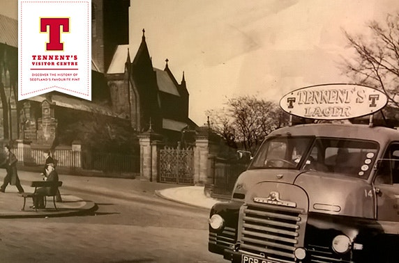 Tennent's Heritage Walking Trail tour and beer
