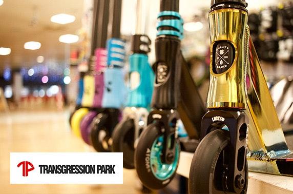 Transgression Skatepark at Ocean Terminal