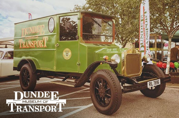 Dundee Museum of Transport from £1.50pp