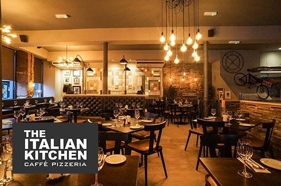 The Italian Kitchen, Merchant City - from £6pp