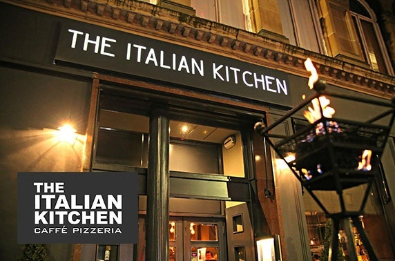 The Italian Kitchen dining, Merchant City