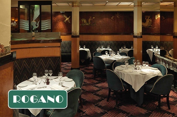 Dining at Rogano Restaurant