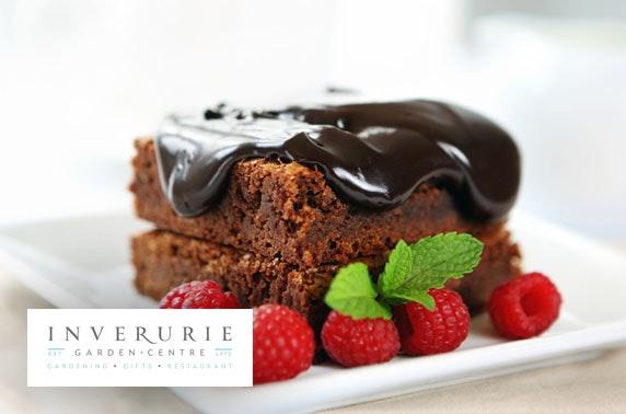 Inverurie Garden Centre cakes, lunch & drinks