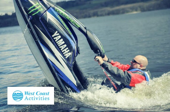 Loch Lomond jet ski lesson