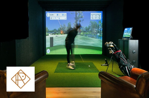 The Range golf simulator & drinks