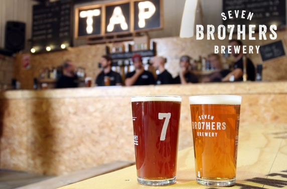 Seven Bro7hers Brewery tour & tasting