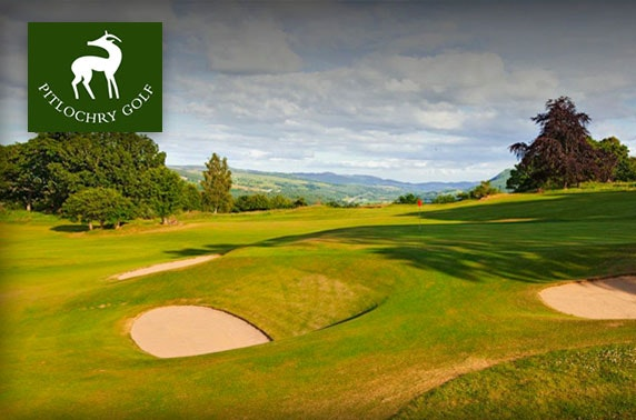 Pitlochry Golf Course round with soup & sandwich