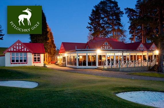 Award winning Pitlochry Golf