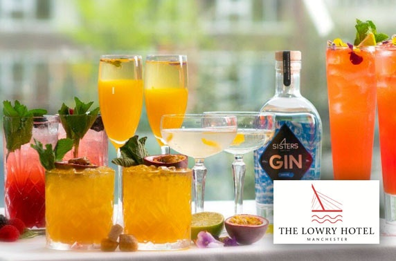 5* The Lowry Hotel cocktails & sharing plates