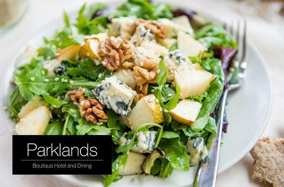 4* The Parklands Hotel terrace lunch