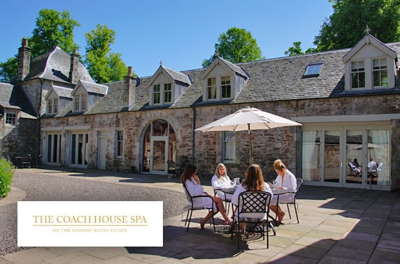 Spa day at Coach House Spa, Kinross