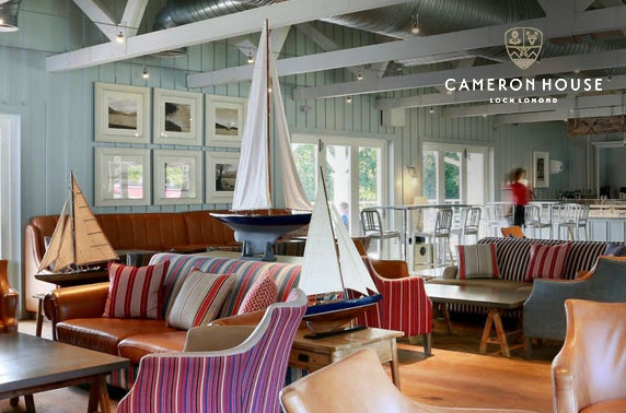 5* Cameron House cruise & lunch