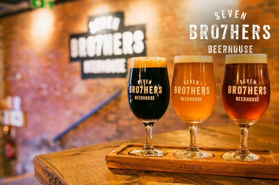 Seven Bro7hers Beerhouse tasting & small plates