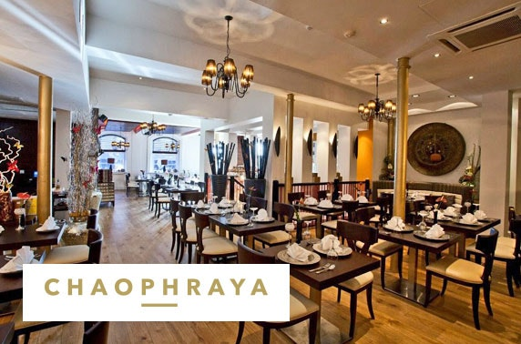 Chaophraya dining, City Centre