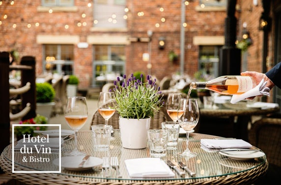 4 course Sunday lunch at 4* Hotel du Vin Newcastle