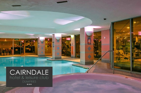 Cairndale Hotel stay, Dumfries