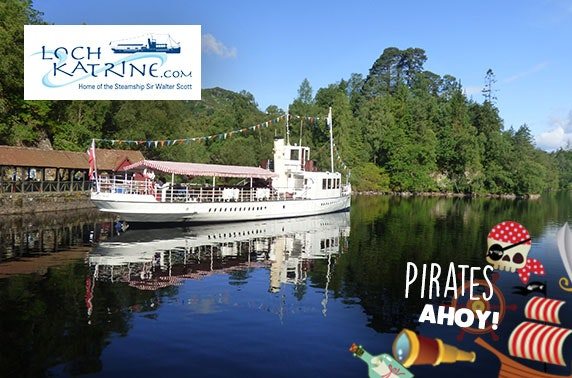 Pirates Ahoy! sailings at Loch Katrine