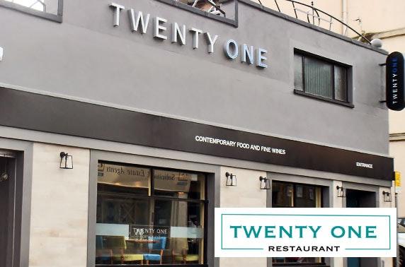 Twenty One Restaurant group dining, Hamilton