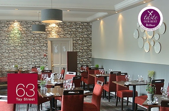 63 Tay Street 2 AA Rosette dining