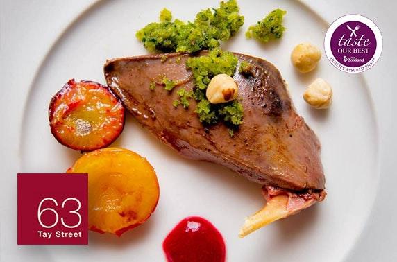 63 Tay Street 2 AA Rosette dining
