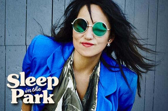 Social Bite Sleep in the Park: KT Tunstall, Amy Macdonald & Irvine Welsh