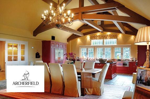 5* Archerfield luxury lodge stay