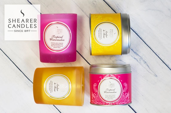 Shearer Candles voucher
