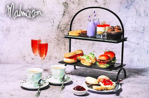 4* Malmaison Glasgow Hendrick's Gin afternoon tea