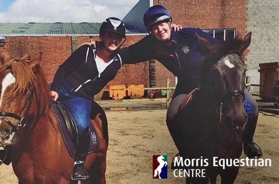 Morris Equestrian Centre lessons, Kilmarnock