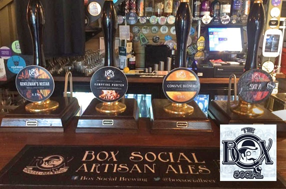 The Box Social beer tasting, Forth Street