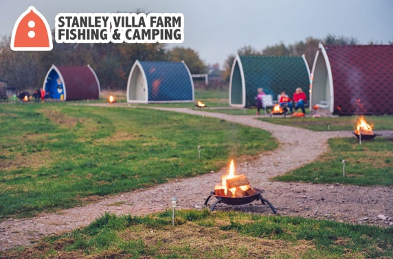 Glamping pod stay - from £29