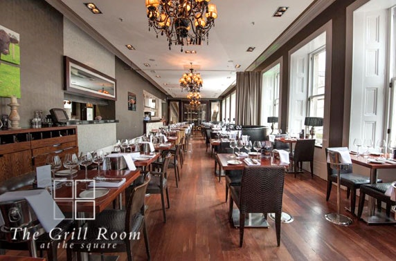 The Grill Room at The Square 4 course dining