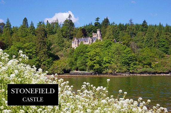 4* Stonefield Castle, Loch Fyne