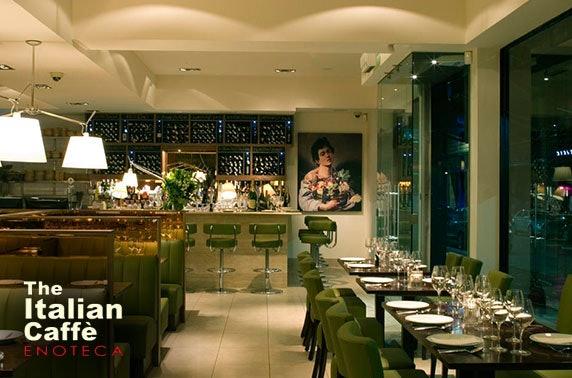 The Italian Caffè Enoteca dining & drinks, Merchant City