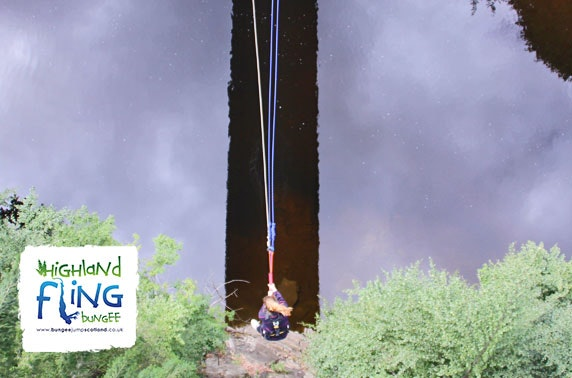 Highland Fling bridge swing