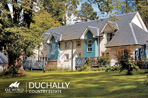 4* Perthshire luxurious lodges – from £12pppn