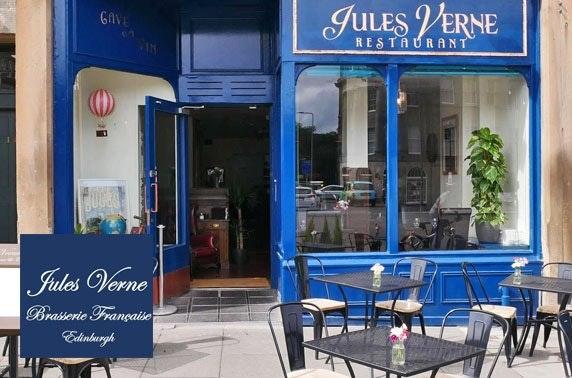 Jules Verne steak & wine; rated 4.5/5 on TripAdvisor'