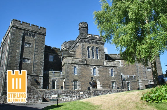 Stirling Old Town Jail family pass - valid till Oct