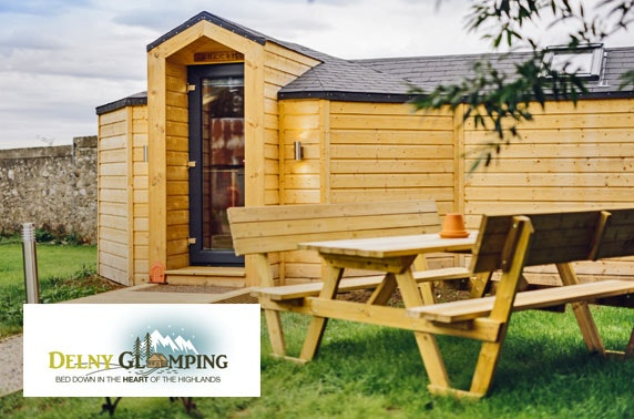 Highland luxury glamping getaway – from £12.50pppn