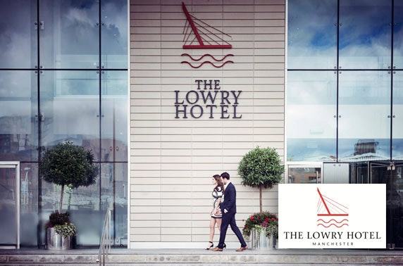 Afternoon tea with Prosecco at 5* The Lowry Hotel