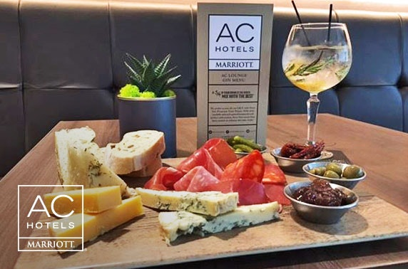 Tapas sharing board & gin at AC by Marriott, Salford Quays