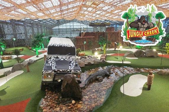 Jungle Creek Adventure Golf, soft play & food